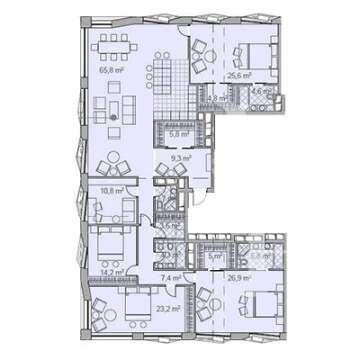 Апарт-комплекс Maison Rouge (Мезон Руж)